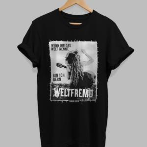 T-Shirt – Weltfremd – gerade