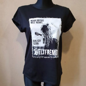 T-Shirt – Weltfremd – tailliert