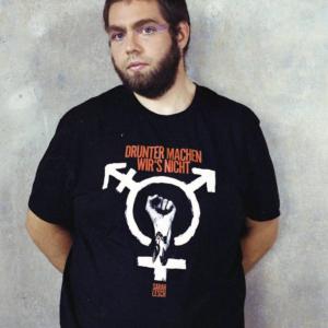 T-Shirt – drunter machen wir's nicht – unisex